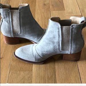 Rag & Bone Walker Boot - grey suede size 7